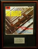 THE BEATLES -   PLEASE PLEASE ME   - Framed LP Cover